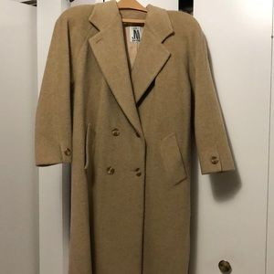 JNY Full length wool double breasted woman's coat